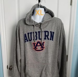 Auburn Tigers Hooded Sweatshirt Adult XL Gray